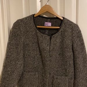 Thick textured wool jacket